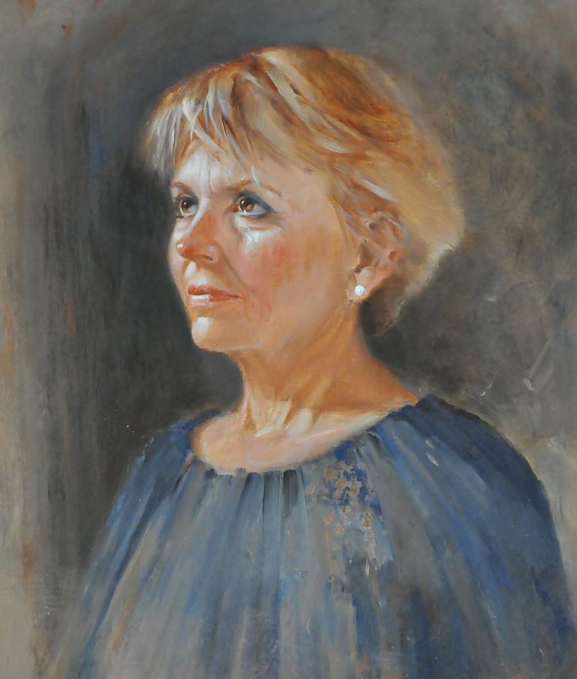 Nancy Oil on Canvas 20X16