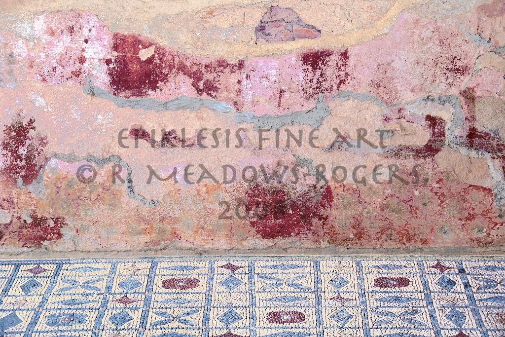 <center>Color Media Roman Domestic Interior, Conimbriga, Portugal © R. Meadows-Rogers, 2008</center>
