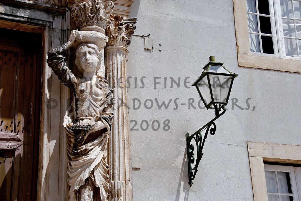 <center>The Burden of Enlightenment University, Coimbra, Portugal © R. Meadows-Rogers, 2008</center>