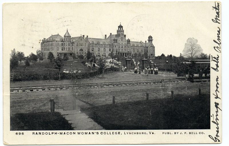 Postcard of Randolph Macon Women's College (03249)