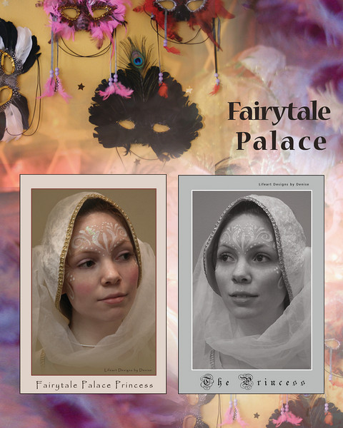 Fairytale Palace poster ~ face painting by Nancy Garland-Ruehle!