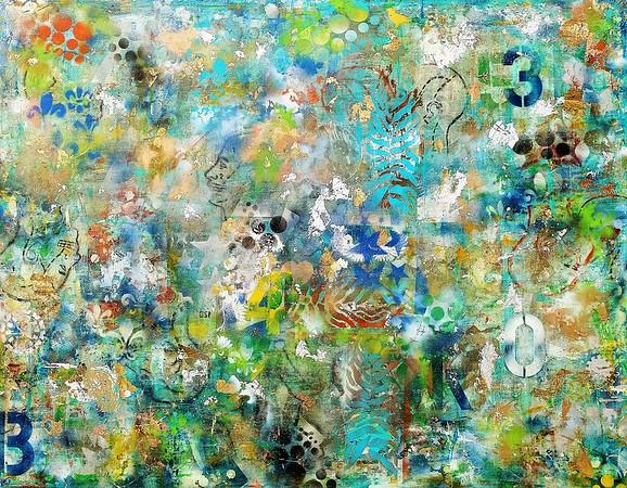 Mind Blown series #4 - mm on canvas.