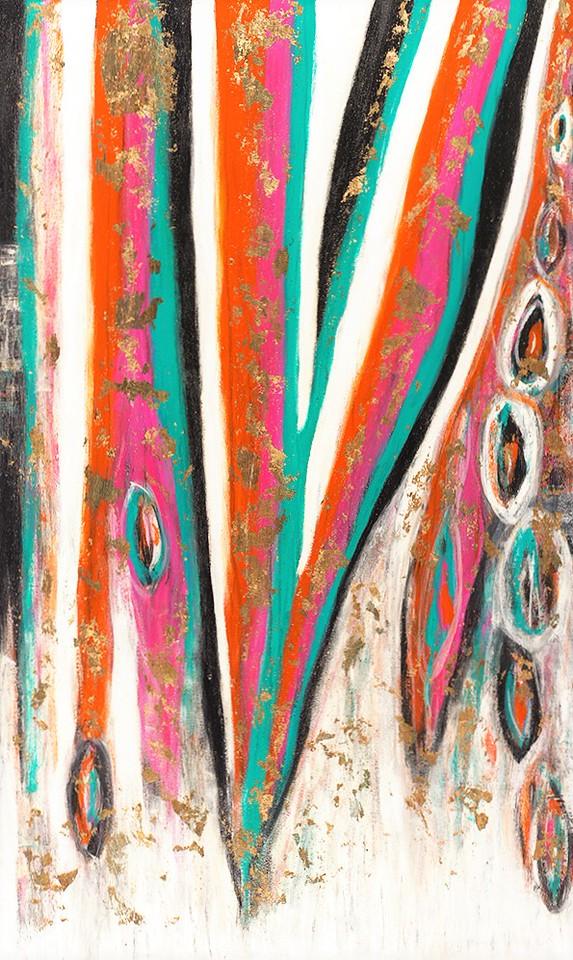 River Dance series - 60x40 - Tigris - 2015