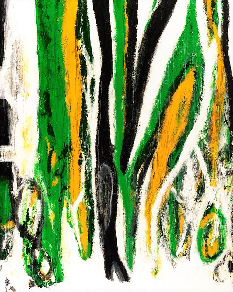 River Dance series - 60x48 - Yangtze - acrylic, mm on canvas. 2015