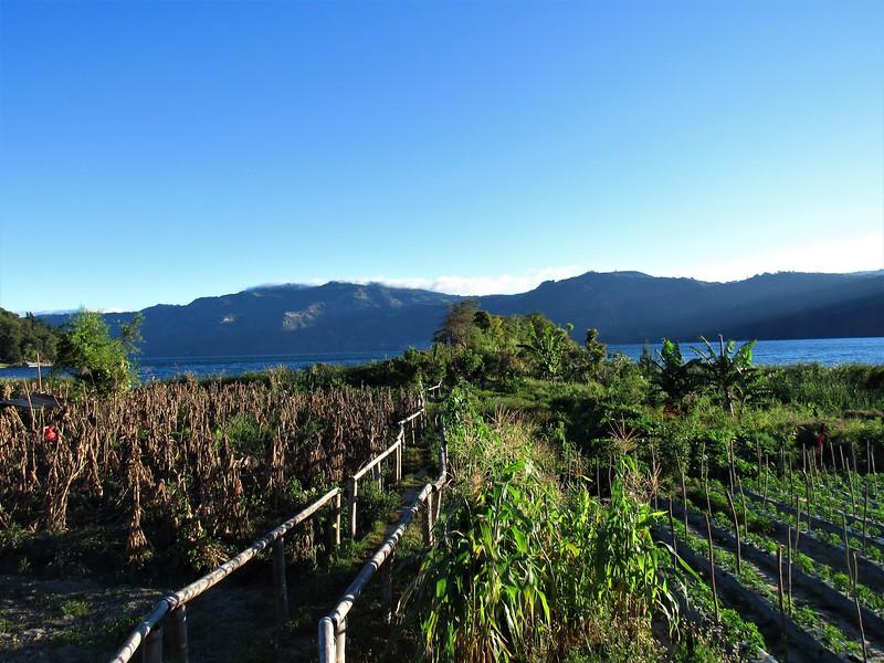 Entre montañas, frío y lago. Pachitulul