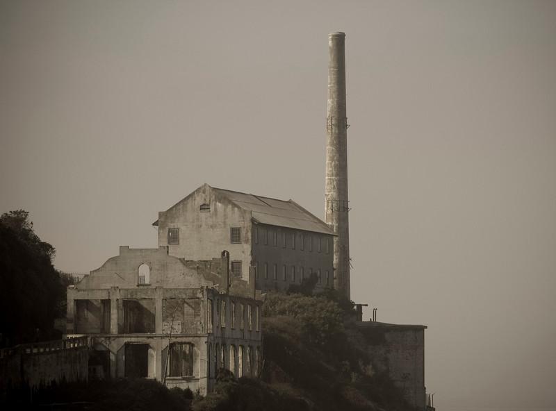 Alcatraz Island, November.