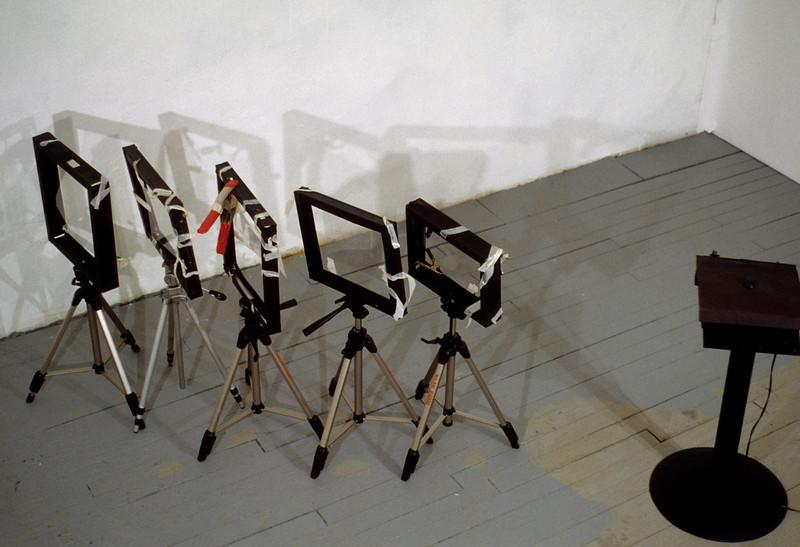 light sculpture (in off position)