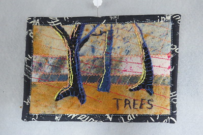 trees postcard for sacred threads