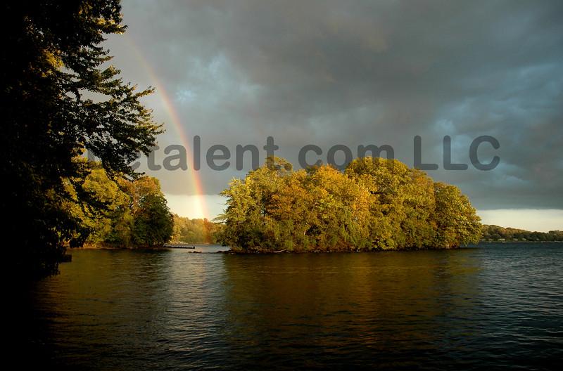 CANDLEWOOD LAKE RAINBOW<br /> Copyright © 2007 CUETALENT.COM, LLC