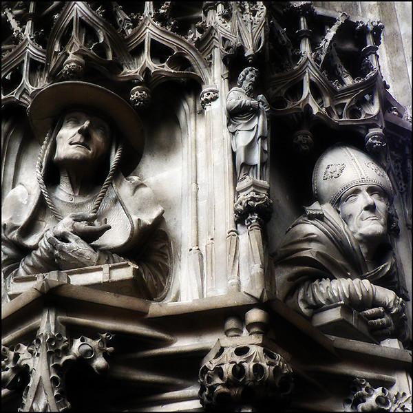 """STEPHANSDOM (CATHÉDRALE SAINT-ÉTIENNE)"" - Vienna (AUSTRIA), 2005.<br /> Ordering Reference: Stony Stares-AUT-01"
