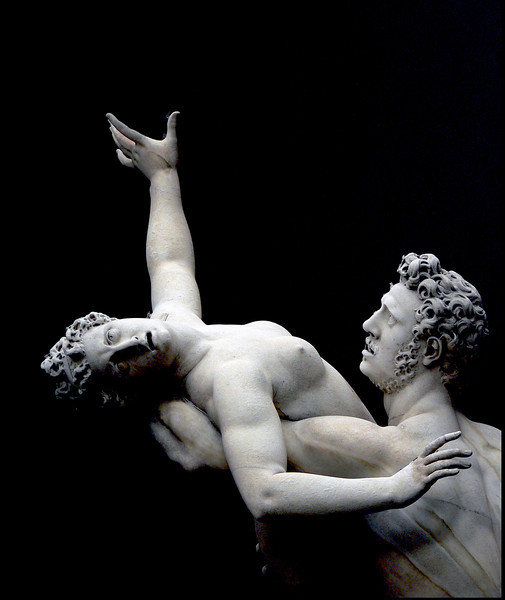 "<p> <center> ""L'ENLÈVEMENT DES SABINES"" par Jean de Bologne / ""THE RAPE OF THE SABINE WOMEN"" by Giambologna - Firenze, Loggia dei Lanzi (ITALY), 2006. <br> <i> Ordering Reference: Stony Stares-IT-02 </i> </center> </p>"