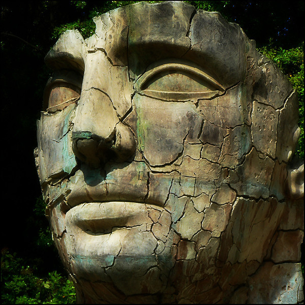 """TINDARO SCREPOLATO"" by Igor Mitoraj - Firenze, Boboli Gardens (ITALY), 2006.<br /> Ordering Reference: Stony Stares-IT-03"