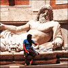 """FOUNTAIN OF NEPTUNE"" - Roma, Musei Capitolini (ITALY), 2005.<br /> Ordering Reference: Stony Stares-IT-04"
