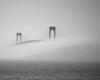 Newport Bridge fog_BxW_2010