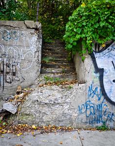 Stairway, Southwest Detroit