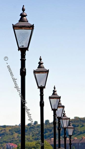 Row of Lamps - Custom House Quay, Greenock