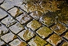Wet Cobblestones at James Watt Dock, Greenock - 12 August 2016