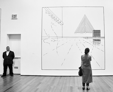 May 29, 2017- New York, NY USA,  Museum of Modern Art Louise Lawler / Rauschenberg exhibits  Credit: Robert Altman