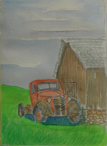 13 Abandoned 3, 5x7 watercolor, completed aug 4, 2013 CIMG8879