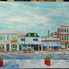 1 Main Street 12x36, oil, completed jan 27, 2013 DSCN2016sm