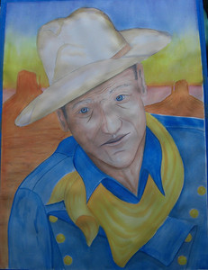 2 The Duke, watercolor 22x30, completed apr 17, 2013, Cimg8506