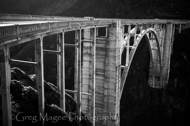 Bixby Bridge in morning light