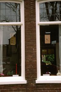 Windows in Hoorn, Netherlands