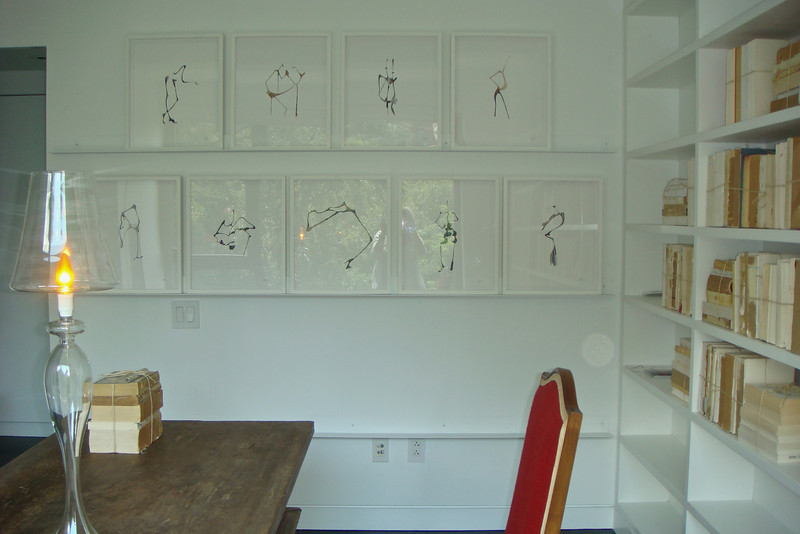 Original Scissor Drawings of Models