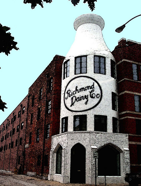 The Richmond Dairy, in Historic Richmond's Jackson Ward