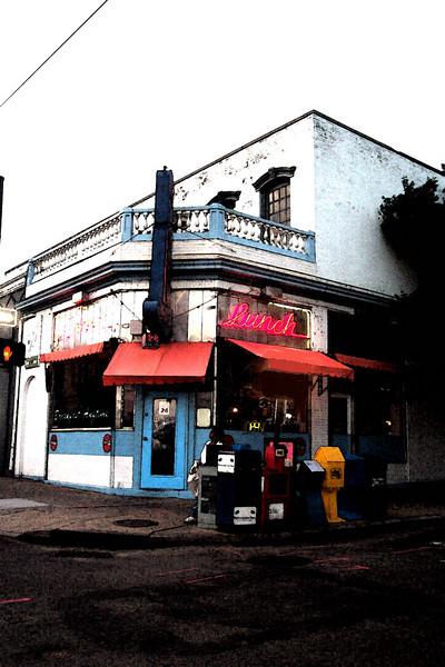 3rd Street Diner water