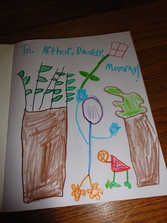 Riley's Drawings at 6 Years and 2 Months Old