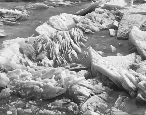 Streams Through Ice