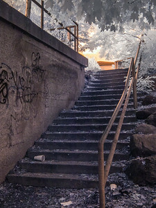 Stairs To The River.