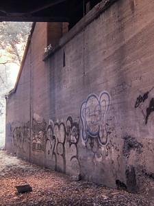 Graffiti Wall Under Bridge 2