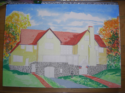 Rockledge Lodge, 10x14 watercolor, sep 14, 2013 CIMG9067