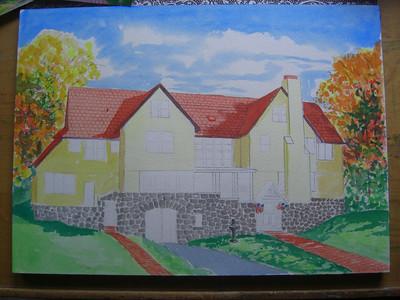 Rockledge Lodge, 10x14 watercolor, sep 14, 2013 CIMG9068