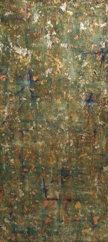 Venezia - September 2012 - 28x48 - oil and metal leafing on canvas.