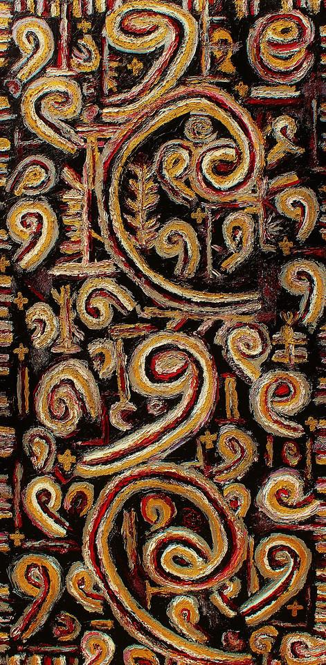 Mark Antony - June 2011 - 30x60 - oil on canvas.