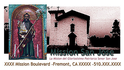 Proposed banner for the Mission San Jose website