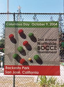 Banner: Northside San Jose Bocce tournament
