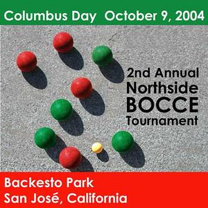 Poster: Northside San Jose Bocce tournament