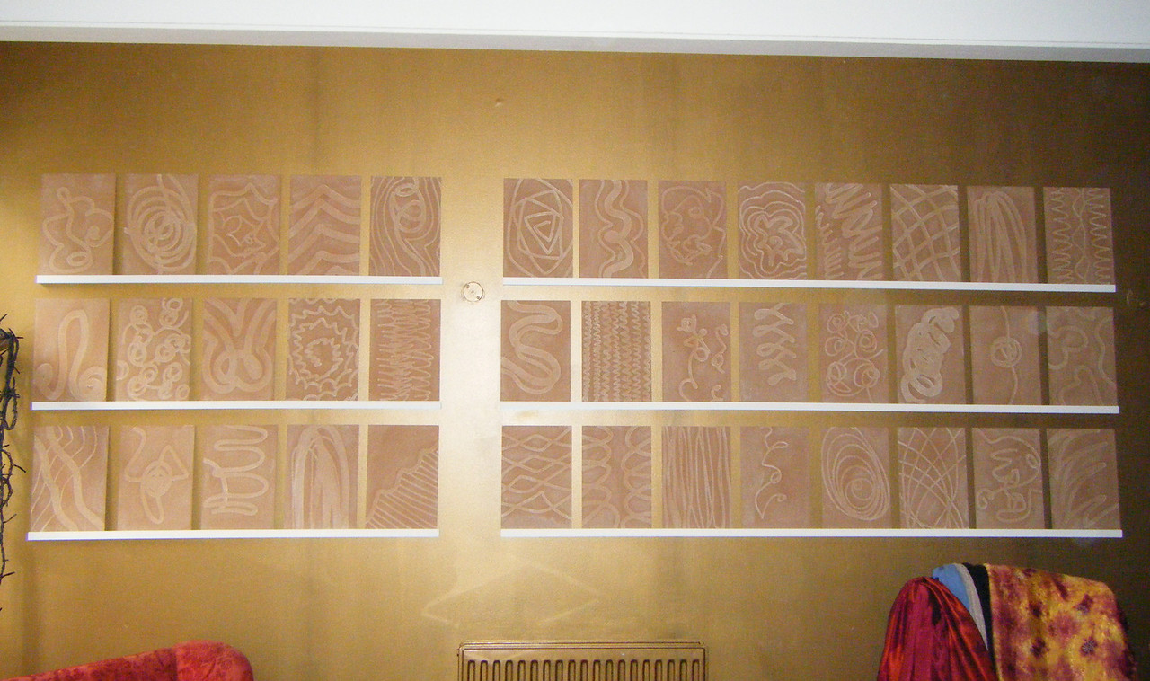 Bamber Hawes ~ Routed panels
