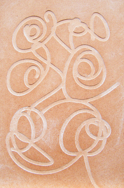 Bamber Hawes ~ Routed panel