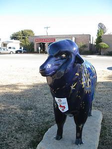 """Ewe"" & Rotary Changing the World  Rotary Club of San Angelo Artist: Diana Lee Jones"