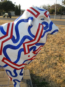 Ewe've Got Mail  YMCA, 353 S. Randolph Red, white and blue communication circuits.