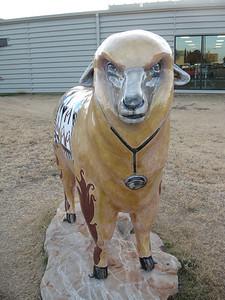 "A Healthy ""Ewe""  Sponsor: Outreach Health Services YMCA, 353 S. Randolph Artist: Sue Daniel"