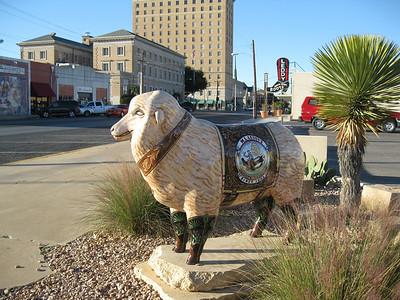 """Custom Made B""""ewe""""ts  M.L. Leddy's, 222 S. Oakes Sponsors: Steve Eustis Realtors Artist: Stylle Read"""