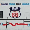 Wall map of the entirety of Route 66