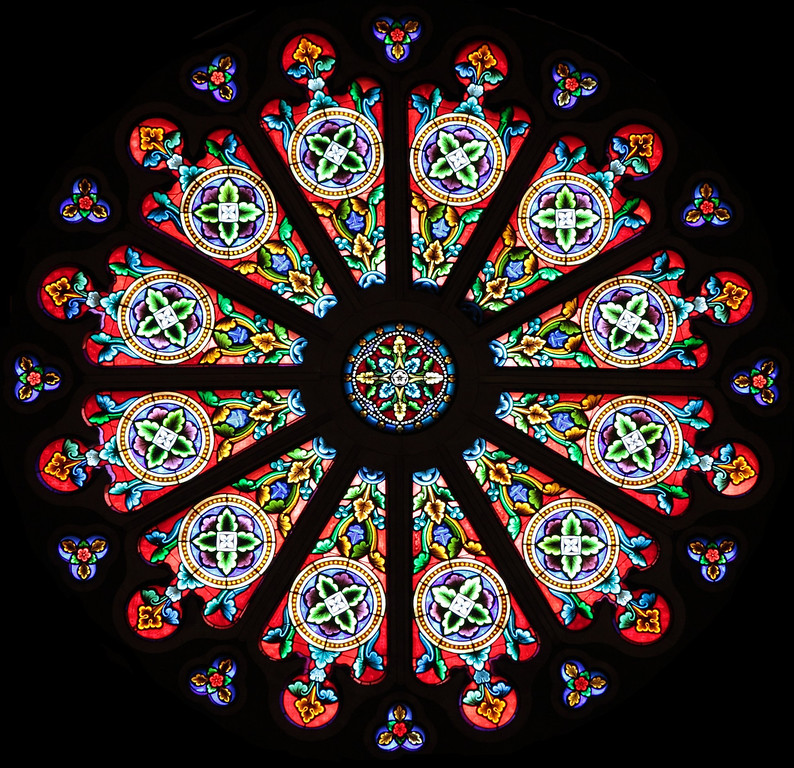 Window detail in Cathedral