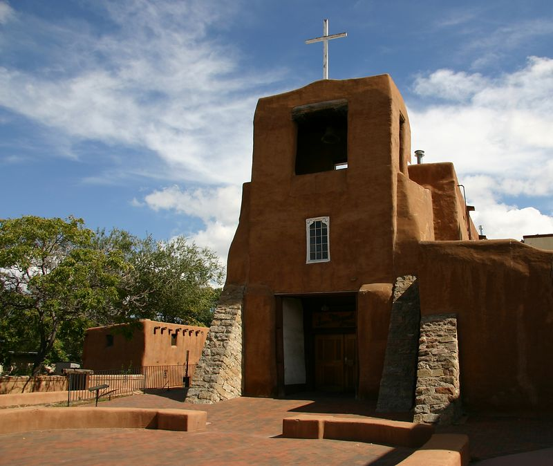The Oldest Church in Santa Fe
